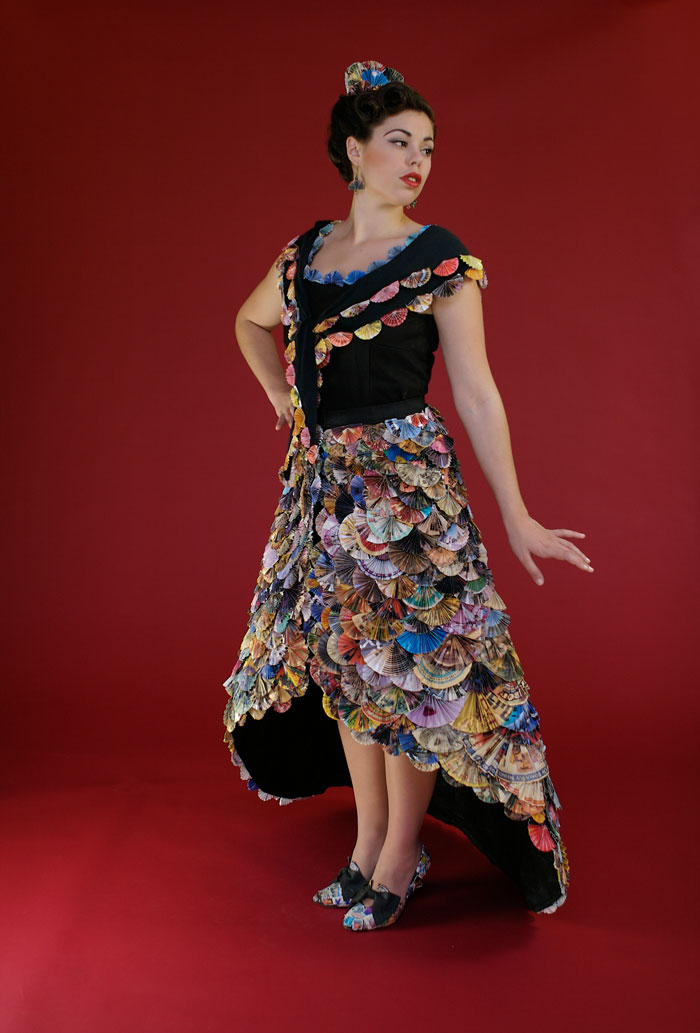 Wearable Art Recycled Sustainable Fashion Design Recycle Runway