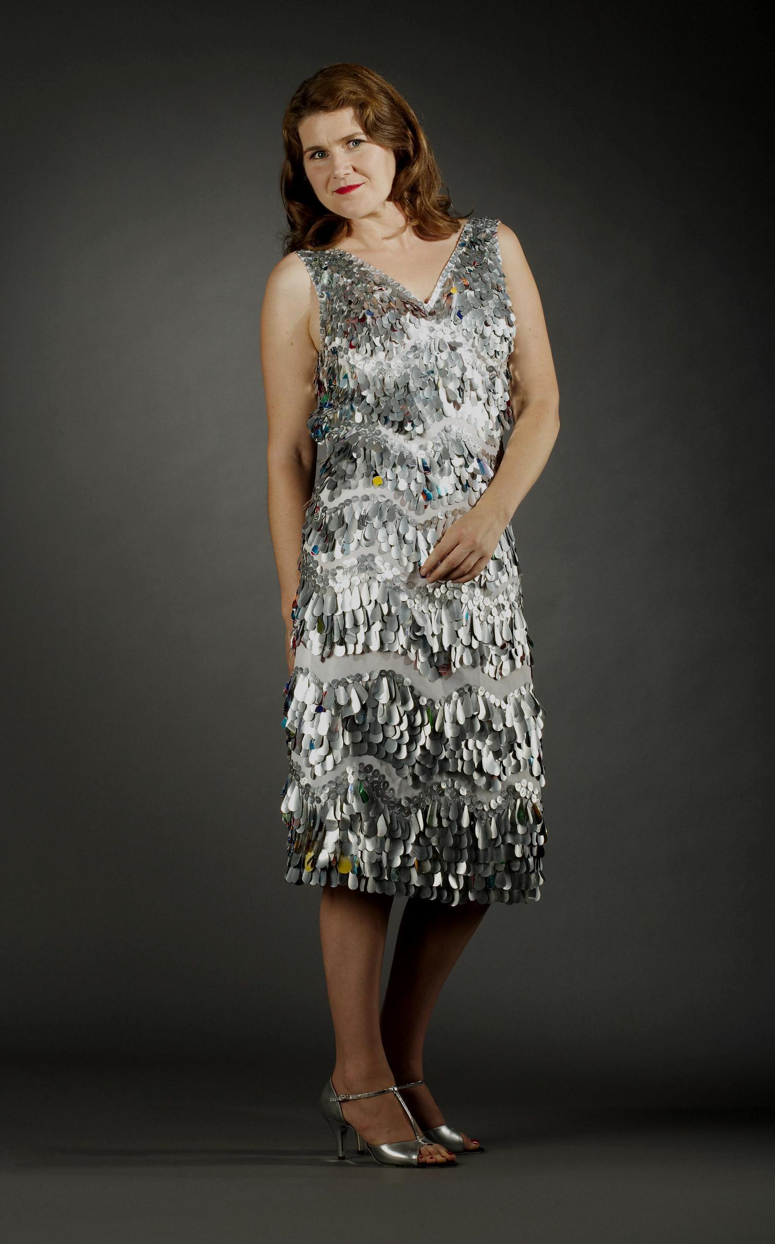 Aluminum Drop Dress