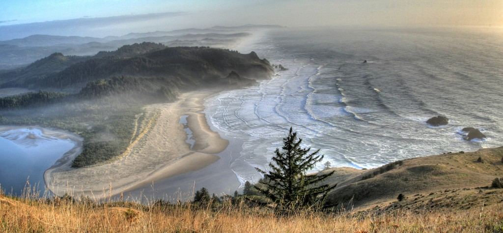 Cascade Head Preserve and the Salmon River Estuary