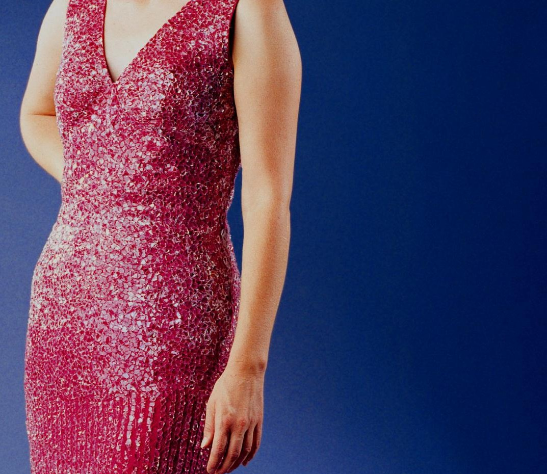 The Glass Evening Gown