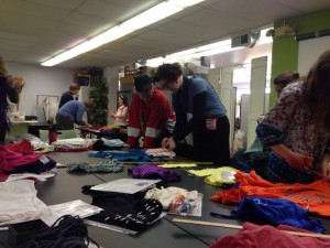 T-shirt Transformation workshop in Champaign, Illinois