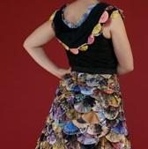Junk Mail Fan Dress