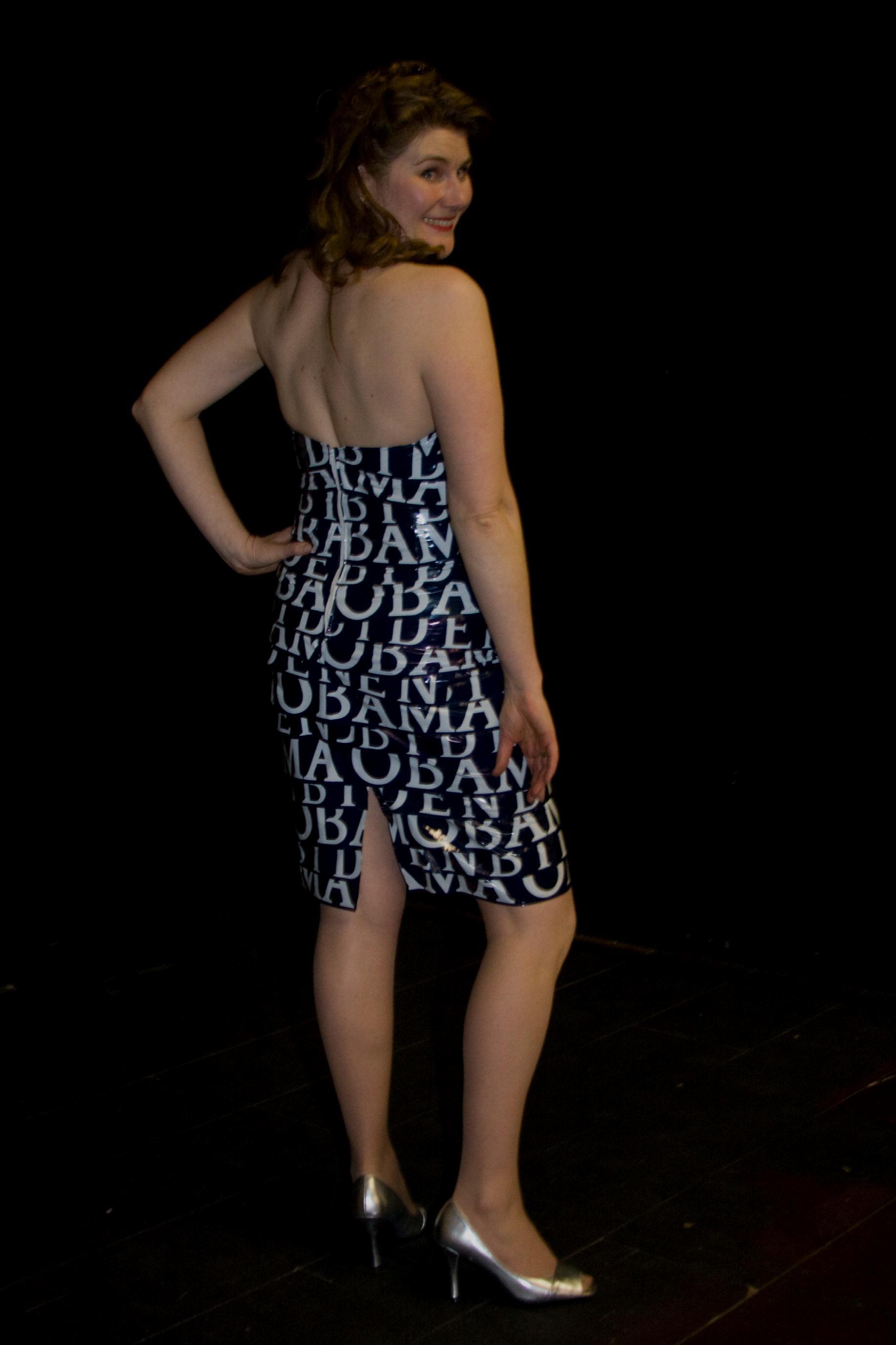 Obama Cocktail Dress, back