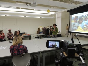 Students in the Textile and Apparel Design Program at the University of Wisconsin in Madison