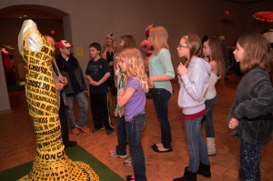 ReDress Upcycled Style exhibition in the Woodson Art Museum